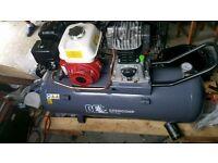 Brand new Honda engine 150 litre petrol compressor