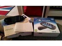 Sony ps vita black