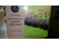 12 pack hammer in lawn edging