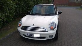 2008 Mini Cooper Pepper White Black Roof Chili Pack 43k