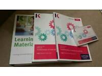 CIMA Certificate C02 Kaplan Official Textbooks