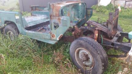 FJ40 Landcrusier Rolling Chassis And Tub