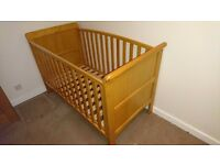 Babies R US Tuscany Cotbed Antique Pine