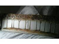 Gold and white picture bought from dunelm