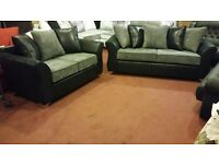 ELLIS BRAND NEW 3 SEATER £399 GET 2 SEATER FREE HAND MADE WITH FOAM SEATING AND SPRING BASE