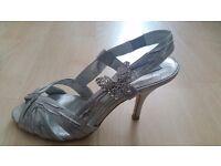 Next silver heels size 5