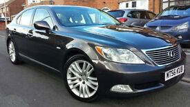2007 MINT LEXUS LS460 SE V8 LS 460, 8 SPD, FSH, FULL MOT, HPI CLR, P/EX, LOOKS & DRIVES SUPERB £6000