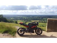 Triumph Street Triple R ABS lots of extras Just Had 1st MOT Bargain