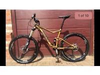 Men's giant trance mountain bike