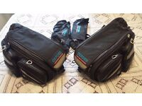 Oxford Sports X60 Lifetime Luggage Panniers Black Motorcycle Saddle Bags 60L Litre Liter