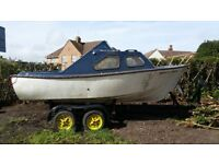 Family/Fishing boat project with trailer