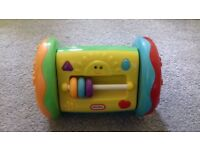 Little tikes roller and Tomy push and go car