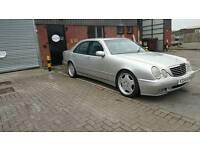 W210 E CLASS 280 AVANTGARDE...AMG LOOKALIKE...LOW MILAGE....NOT BMW.VW.