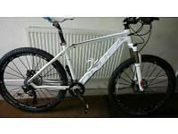 Orbea alma s50 full carbon mountain bike- mint condition