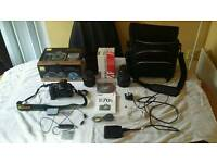 Nikon D D70s 6.1MP Digital SLR camera - black ( kit with 18 -70 mm lens)
