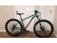 (RRP £899) 2018 Cannondale Cujo 2 Hardtail Mountain Bike (As New)