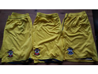 3 Pairs of official Southampton F.C/Saints football shorts.