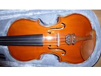 Violin 3/4 size complete with bow and case