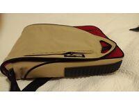Messenger/back pack Laptop Bag