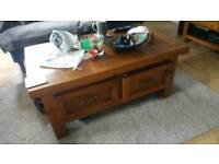 TV unit, coffee table, side table