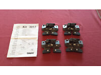Thule Roof-bar Adaptor Kit 3017 (Peugeot and Citroen Cars)