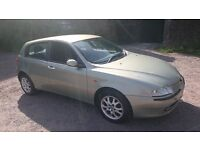Alfa Romeo 147 1.6 Spark 2002 - Spares or Repairs