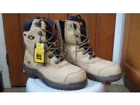 CAT Steel Toe Work Boots size 11 UK