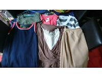 Woman's clothing different sizes
