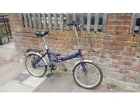Apollo folding bicycle for £50 in North London