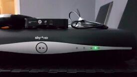 Sky+ hd box , WiFi extender , two remote controls