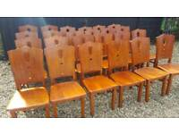24x resteraunt chairs nice quality and design