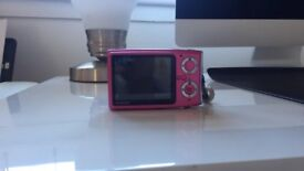 Pink Fujifilm Finepix Camera