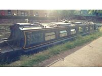 'Stravaig' - 50ft cruiser stern narrowboat / canal boat in London - PRICE REDUCED