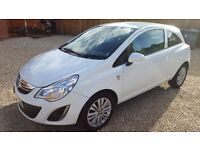 2013 VAUXHALL CORSA 1.2 ENERGY 3DR [AC] LESS THAN 35K MILES!