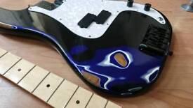 Reliced Project Bass Guitar Squier Dimarzio