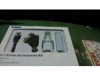 3 in 1 Vision Accessories Kit( 2m HDMI Cable/ 2 m Scart/ Cleaning Solution and Cloth)- New