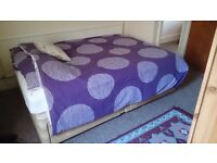 Double bed base with storage only £10!