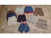 Boy Clothes / 18 - 24 months / 10 shorts / GAP, John Lewis, M&S, NEXT, Umbro, H&M, Little Rocha
