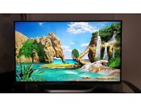"42"" SMART, 3D, LED, webOS, Full HD, Free view TV LG 42LB730V with USB media player (can deliver)."