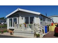 BRILLIANT RETIREMENT PROPERTY BARGAIN - AYRSHIRE SCOTLAND - ALMOST NEW RESIDENTIAL PARK HOME
