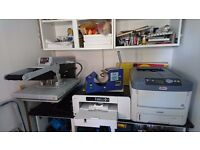 T-Shirt and Mug Printing Equipment