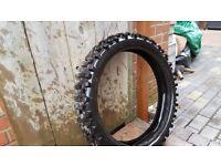 Bike tyre. 100/90-19. YZ250 RM250 KX250