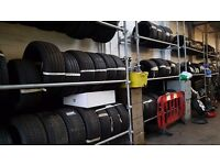job lot of tyres mixed sizes 150 branded & budget
