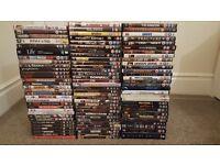 100 DVD FILMS JOB LOT CLEARANCE