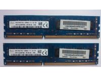16GB DDR3 1600MHz Desktop RAM