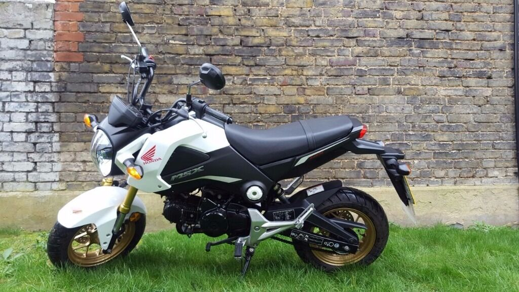 Honda msx 125 grom white 2015 in acton london gumtree for Honda grom mpg