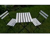 Patio Garden Table and Chairs set - £30 ONO