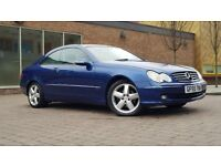 Mercedes-Benz CLK 2.7 CDI Elegance Coupe 2dr Diesel Automatic ((W.MILEAGE+12M MOT+FULLY LEATHER))