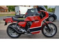 "Honda CB750 F2 ""Honda Britain"" in Phil Read replica colours , as built by Colin Sealy"