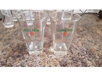 set of 2 JAMESON glasses brand new